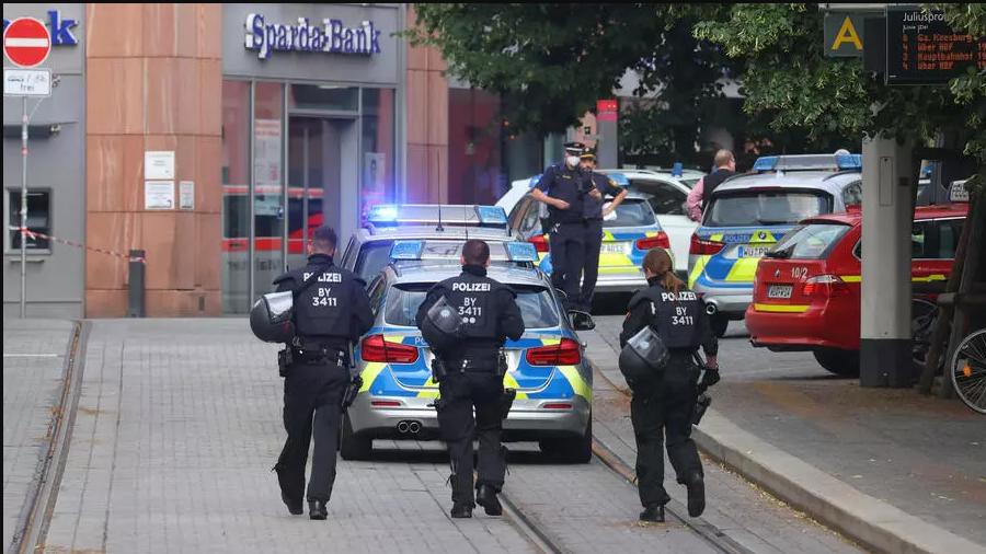 Several killed in knife attack in Germany's Wuerzburg. 46