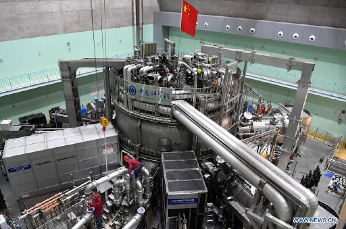 China's Artificial Sun Sets World Record. 45