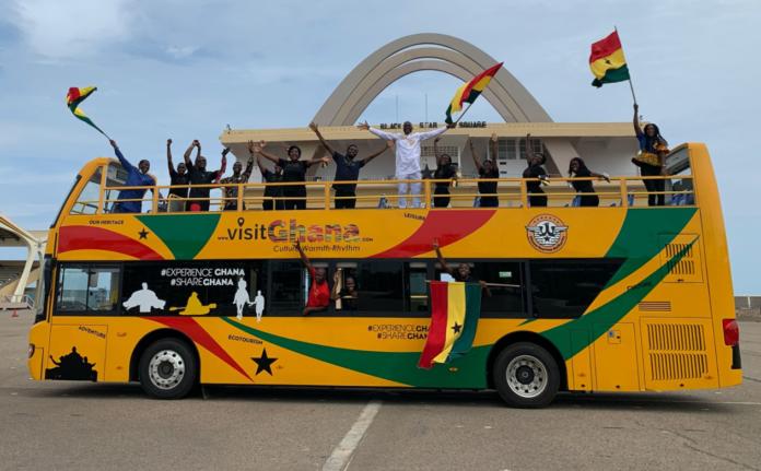 Ghana Tourism Authority outdoors 'Aunty Deede' buses (Photos). 45
