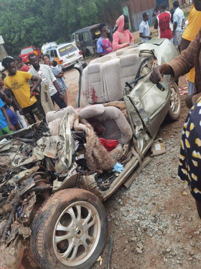 C/R: Three dead in gory accident at Dunkwa Ayamfuri. 45