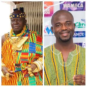 Otumfuo awards Manasseh Azure. 46