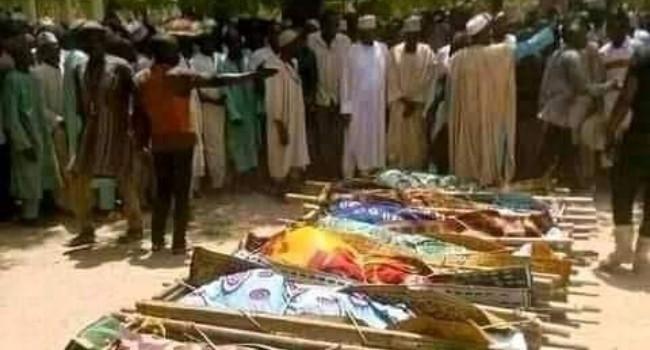 Bandits kill over 42 people in Nigeria. 46