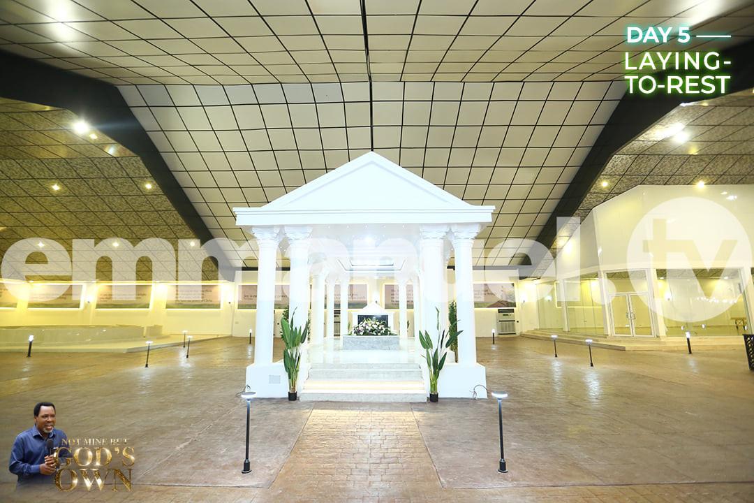 Photos of late T.B Joshua's Mausoleum. 46
