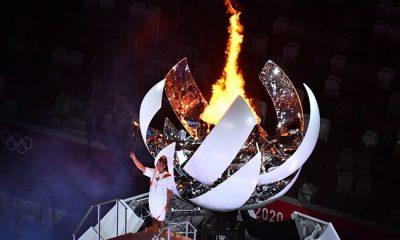 Tokyo 2020 Olympics: Naomi Osaka lights Olympic cauldron at Opening Ceremony (Photos). 35