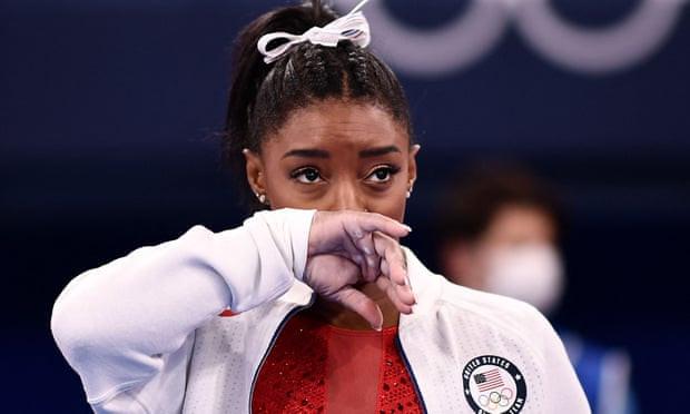 Tokyo Olympics: Simon Biles holds back tears as she pulls out of gymnastics final (photos). 46