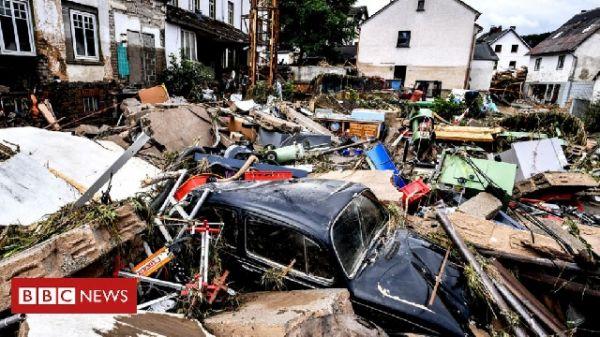 Floods Kill 180 In Germany, Belgium; Billions Needed For Rebuilding. 46