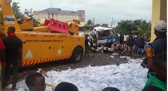 C/R: Truck kills three women at Agona Swedru. 46