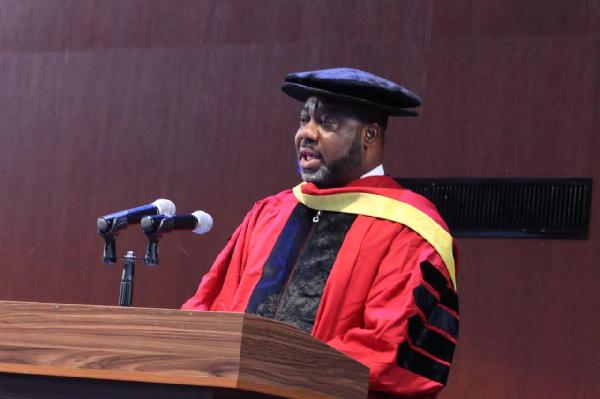 UPSA confers honorary doctorate on Matthew Opoku Prempeh. 46
