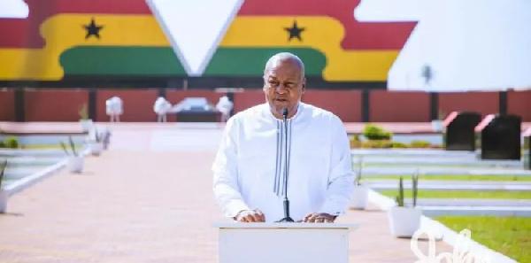 We must bring back hope to Ghana – Mahama to NDC. 46