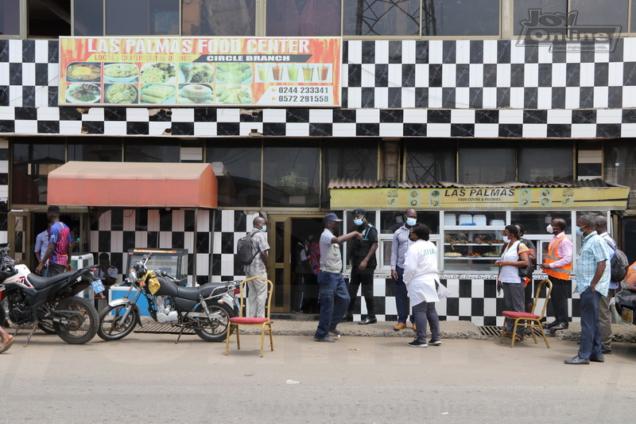 AMA officials shutdown 'Circle' branch of Las Palmas eatery over sanitation breaches. 46