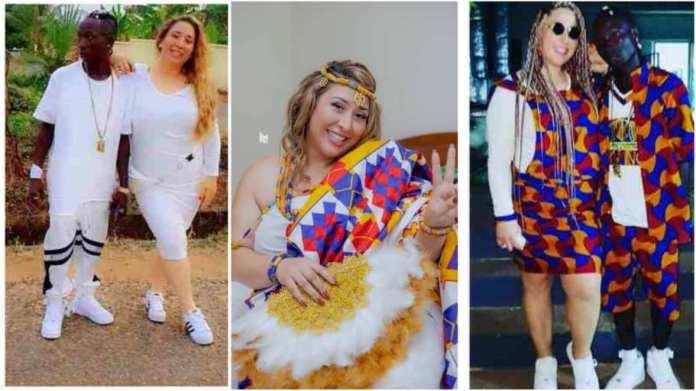 Patapaa's wife Liha Miller causes stir as she mocks Kumasi people in new video. 46