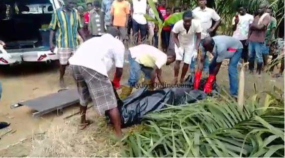 Farmer found dead in a river at Asiakwa. 48
