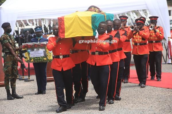 Lieutenant General Joshua Mahamudu Hamidu laid to rest. 48