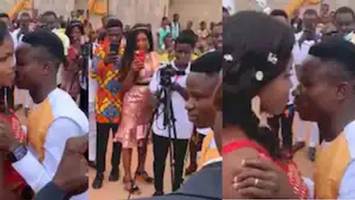 Groom whose wife refused to kiss him breaks silence - (Video). 46