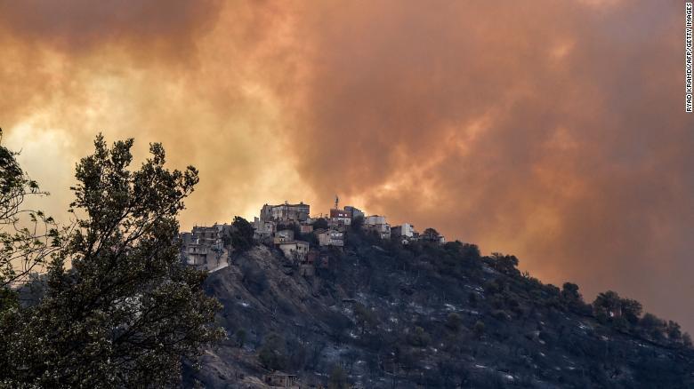 42 people killed as wildfire rips through Algeria (photos). 46