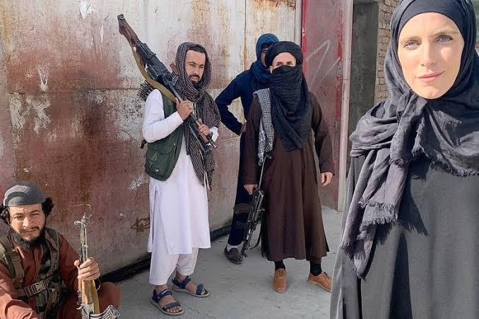Watch Taliban threaten CNN reporter Clarissa Ward and her crew with 'pistol whip' (video). 46