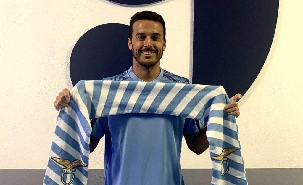 Pedro joins Lazio. 46