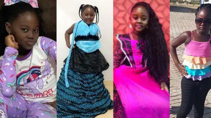 Meet Malaika; first daughter of Odartey Lamptey. 46