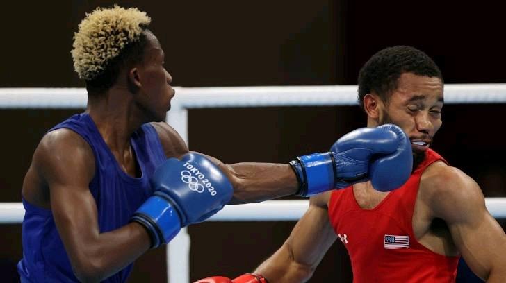 Tokyo 2020: Samuel Takyi wins bronze for Ghana after losing semi final fight. 46