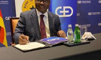 BoG partners Giesecke+Devrient to pilot digital currency in Ghana. 52