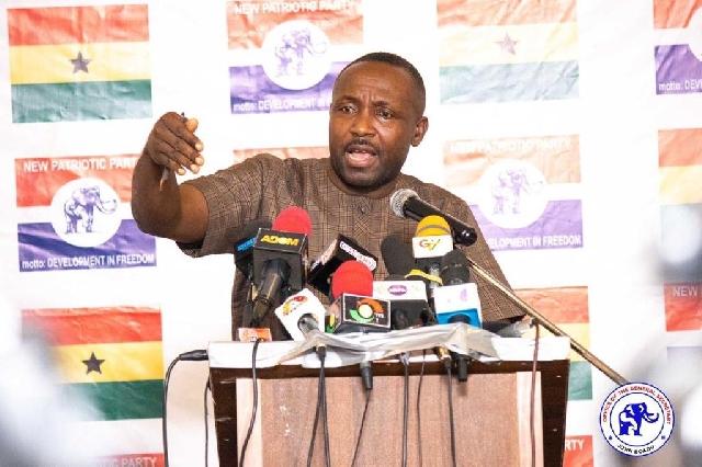 Outlandish and preposterous – John Boadu replies Bagbin 'backdoor' majority claims. 46