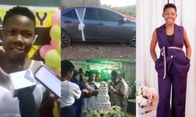 15-yr-old Odehyieba Priscilla receives Toyota Corolla SE 2017 as birthday gift. 56