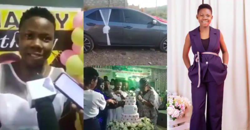 15-yr-old Odehyieba Priscilla receives Toyota Corolla SE 2017 as birthday gift. 46
