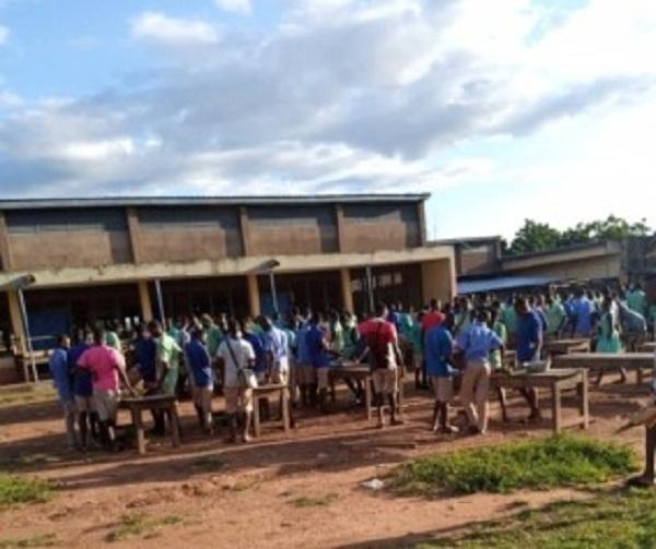 'No food': Damongo Senior High School struggles to feed students on campus. 46