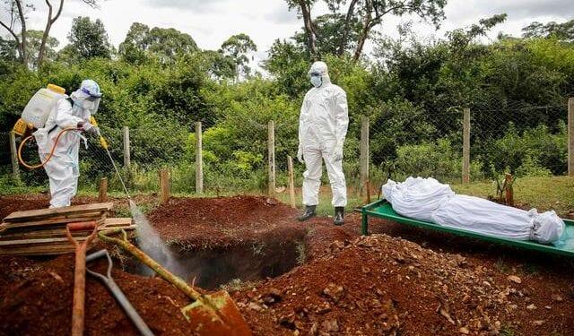 No more coronavirus burials by us – Environmental officers lay down tools. 46