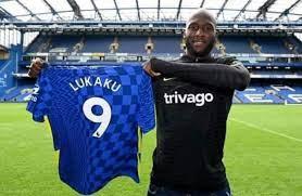 Romelu Lukaku takes No 9 shirt at Chelsea after £97.5m transfer from Inter Milan. 46