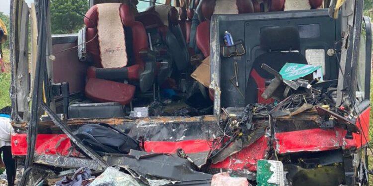 10 dead, 15 injured in another fatal accident on Kasoa-Winneba road. 50