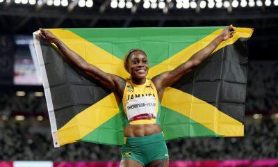 Norway's Warholm, Jamaica's Thompson-Herah make athletics history at Tokyo Games. 31
