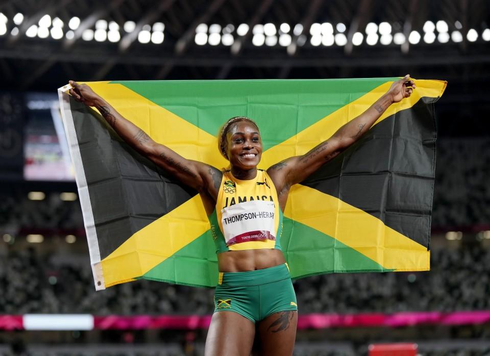 Norway's Warholm, Jamaica's Thompson-Herah make athletics history at Tokyo Games. 46