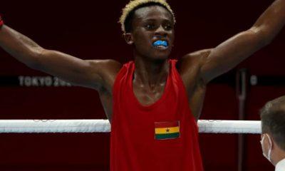 Boxer Samuel Takyi wins Ghana's first Olympic medal since 1992. 33